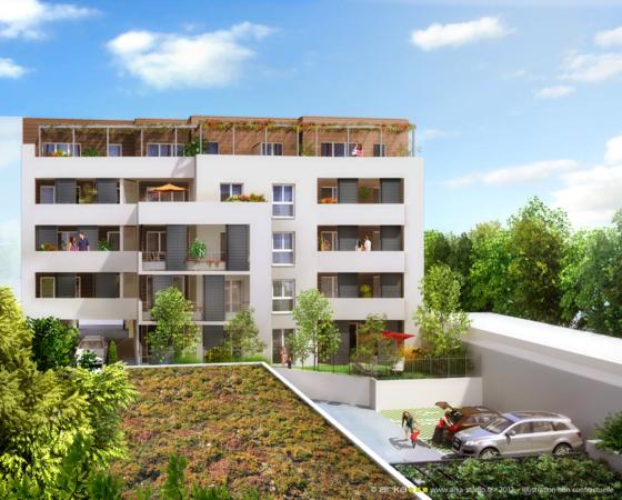 Faventines plein ciel 22 logements neufs valence for Piscine plein ciel valence